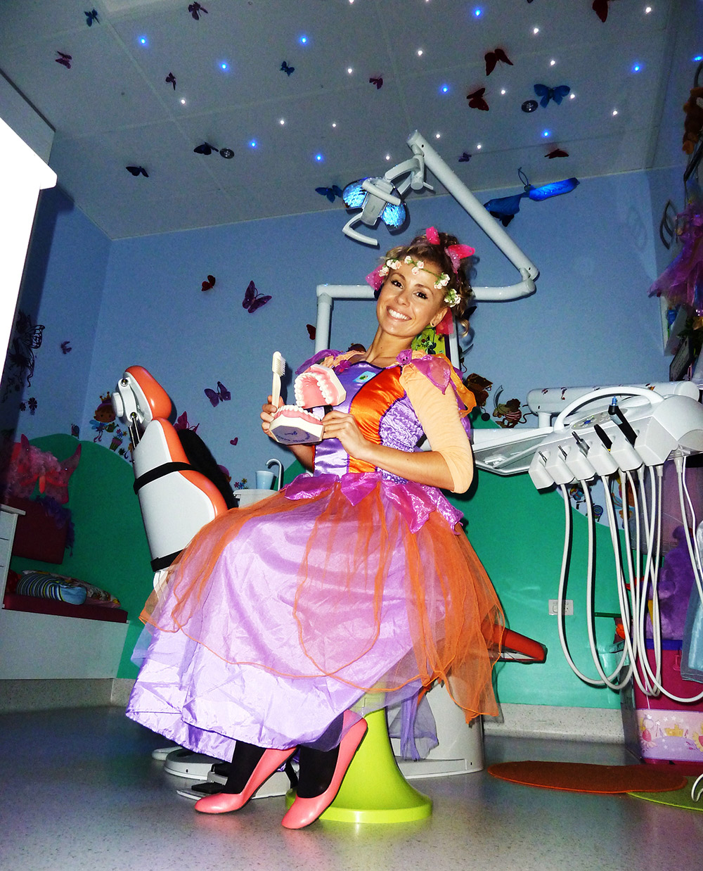 Visit our dental Tooth Fairy!